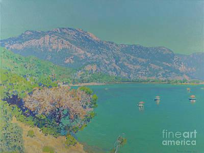 Painting - Blue Lagoon. Oludeniz.  by Simon Kozhin