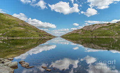 Photograph - Blue Lake Of Snowdonia by Adrian Evans