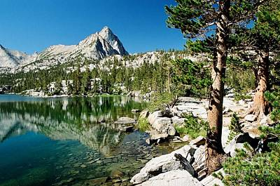 Photograph - Blue Lake Shores by Frank Townsley