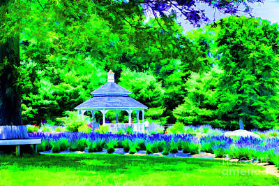 Digital Art - Blue Lavender by Rick Bragan