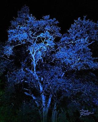 Lighting Effect Digital Art - Blue Magic by Doug Kreuger