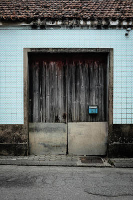 Photograph - Blue Mailbox by Marco Oliveira