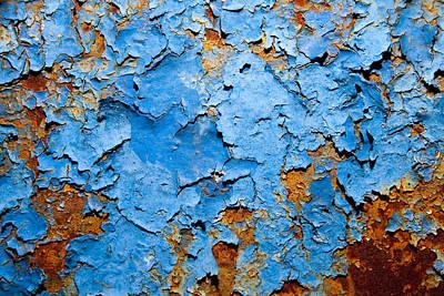 Blue  Art Print by Mark Weaver