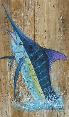 Blue Marlin Art Print by Danielle Perry