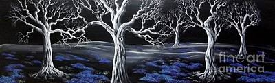 Painting - Blue Medadow by Kenneth Clarke