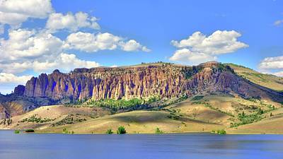 Photograph - Blue Mesa Colorado I by Lanita Williams