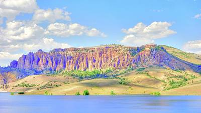 Photograph - Blue Mesa Colorado II by Lanita Williams