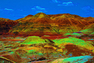 Photograph - Blue Mesa Dreaming by Chrissy Skeltis