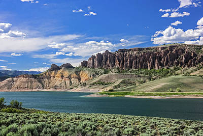 Photograph - Blue Mesa Reservoir by Lon Dittrick
