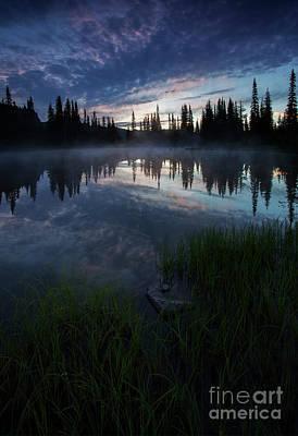 Photograph - Blue Mist Dawn by Mike Dawson