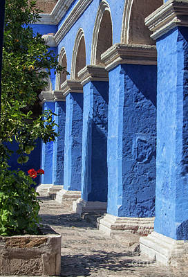 Photograph - Blue Monastery by Patricia Hofmeester