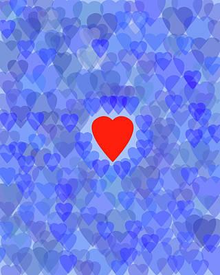 Digital Art - Blue Monday by Bruce