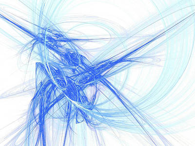 Digital Art - Blue Monday by Digital Photographic Arts