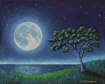 Pastel - Blue Moon 01 by Michael Heikkinen