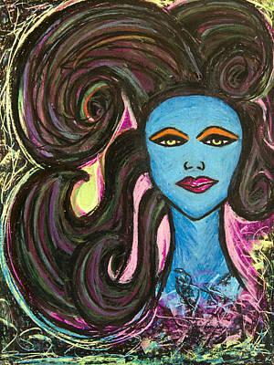 Painting - Blue Moon by Christine Regan Lake