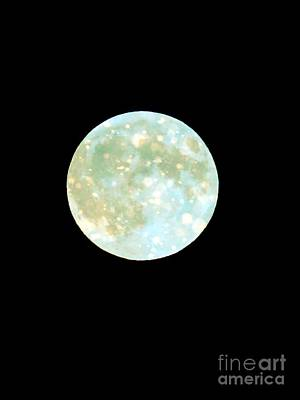 Photograph - Blue Moon by France Laliberte