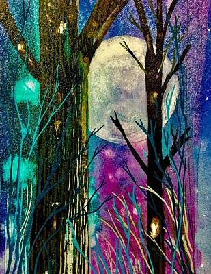 Painting - Blue Moon by Gina Signore