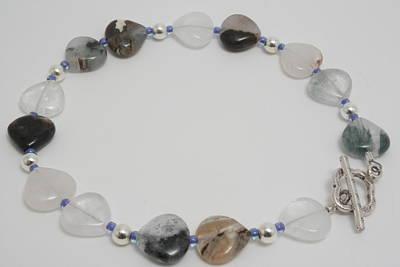Sterling Silver Bracelet Jewelry - Blue Moon by Jerri Nielsen