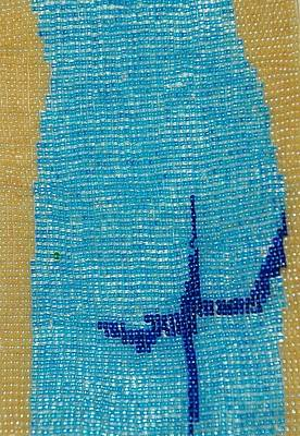 Tapestry - Textile - Blue Moon by Rachel Rose
