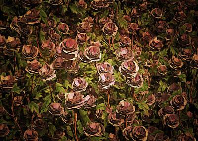 Painting - Blue Moon Roses by Jan Keteleer