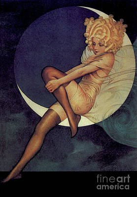 Photograph - Blue Moon Silk Stockings by Garry McMichael
