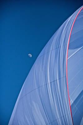 Photograph - Tahoe Blue Moon by Steven Lapkin