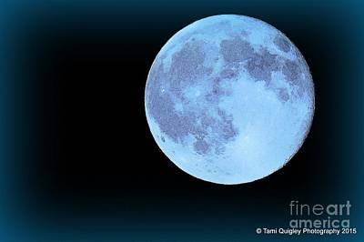 Photograph - Blue Moonshine by Tami Quigley