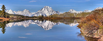 Photograph - Blue Morning At Oxbow Bend by Adam Jewell