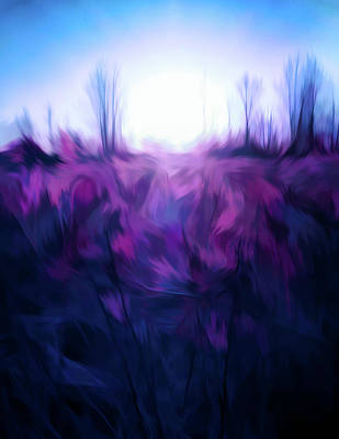 Painting - Blue Morning by Dan Sproul