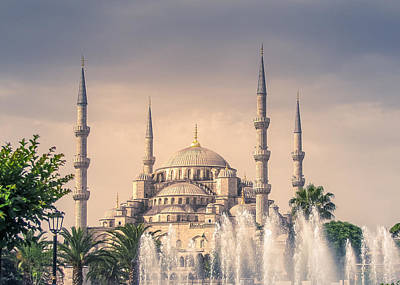 Photograph - Blue Mosque by Allin Sorenson
