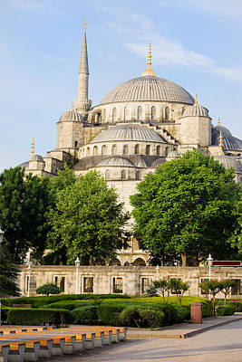 Byzantine Photograph - Blue Mosque by Artur Bogacki