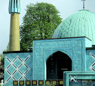 Photograph - Blue Mosque Hamburg by Randall Weidner