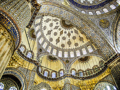 Photograph - Blue Mosque I Istanbul by Sally Ross