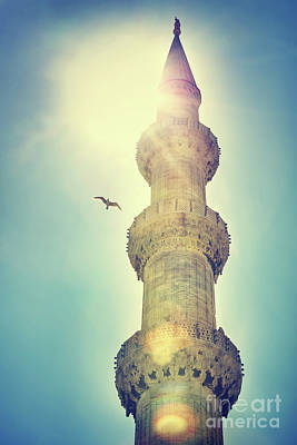 Photograph - Blue Mosque Istanbul by Anna Om