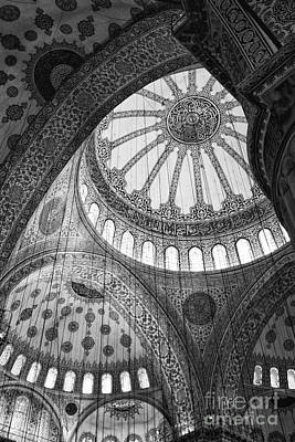 Leda Photograph - Blue Mosque by Leslie Leda