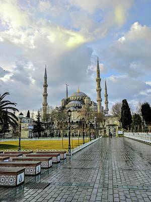 Photograph - Blue Mosque by Ty Agha