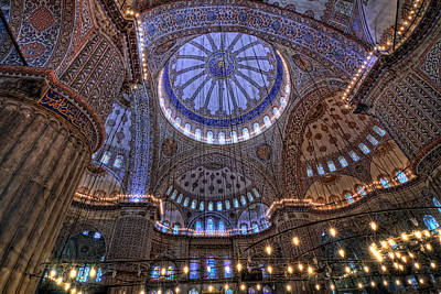 Photograph - Blue Mosque by Van Sutherland
