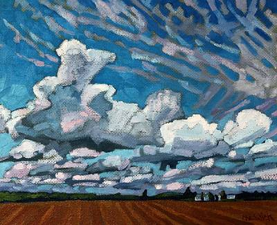 Blue Mountain Cumulus Original by Phil Chadwick