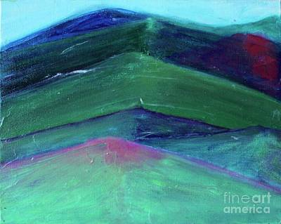 Painting - Blue Mountain by Kim Nelson