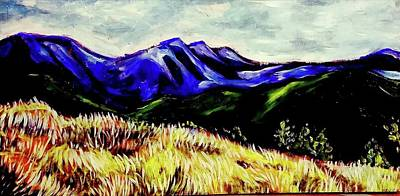 Painting - Blue Mountain by Kimberly Dawn Clayton