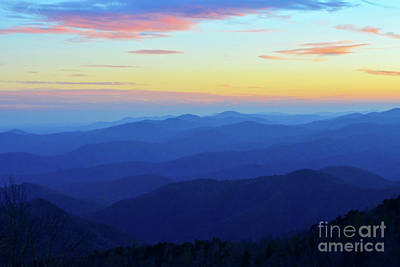 Photograph - Blue Mountain Majesty by Third Eye Perspectives Photographic Fine Art