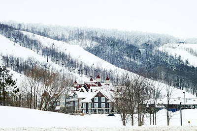 Photograph - Blue Mountain Ski Resort by Tatiana Travelways