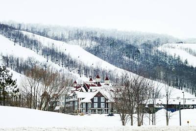 Photograph - Blue Mountain Ski Resort by Tatiana Travelways