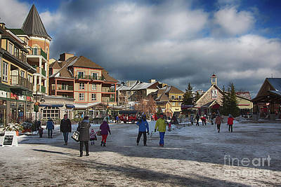 Photograph - Blue Mountain Village by Tatiana Travelways