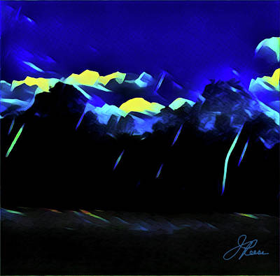 Painting - Blue Mountains by Joan Reese