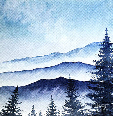 Painting - Blue Mountains by Rebecca Davis