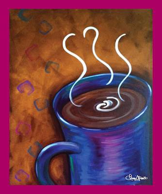 Painting - Blue Mug by Dani Abbott