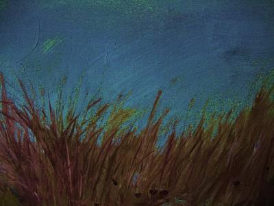 Blue Art Print by Nereida Slesarchik Cedeno Wilcoxon