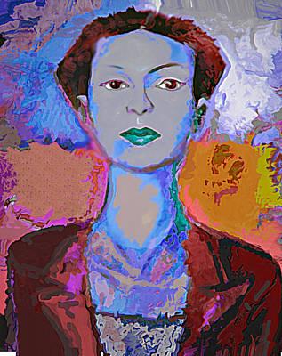 Blue Nev Art Print by Noredin Morgan