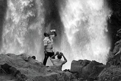 Photograph - Blue Nile Falls by Aidan Moran